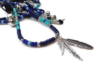 RIVER rhythm beads for horses.