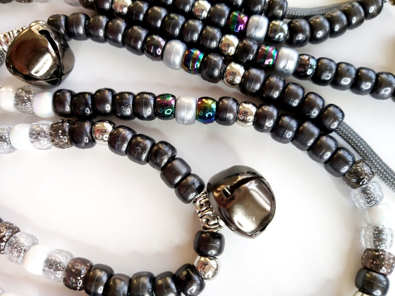 GLACIER rhythm beads for horses and ponies