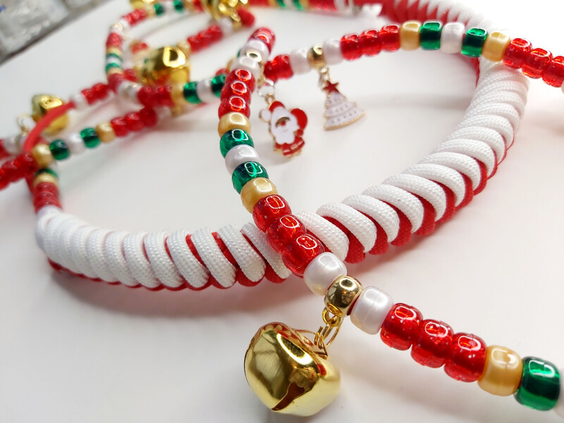 CANDY CANE rhythm beads for horses and ponies