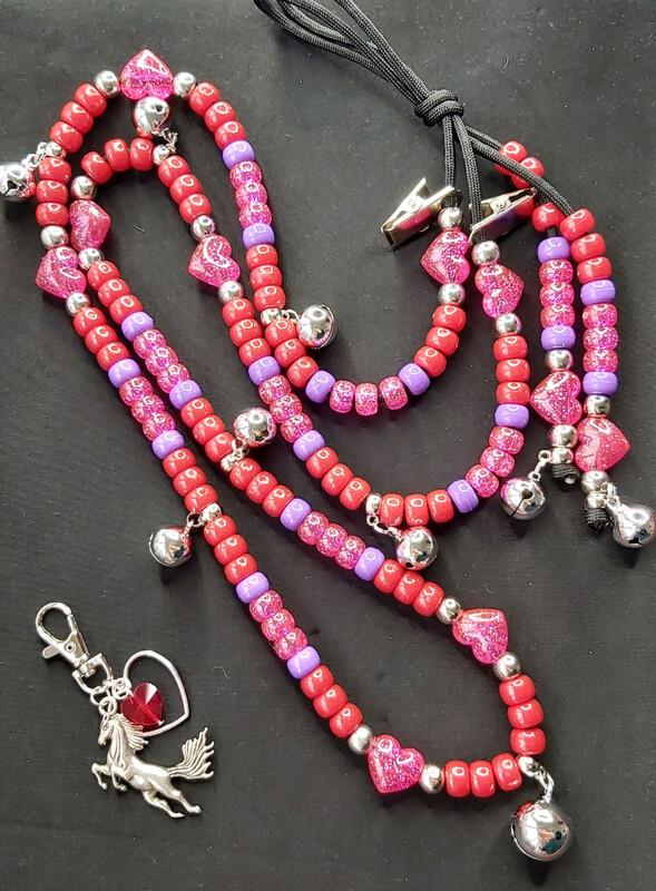 ALL HEART chunky rhythm beads for horses