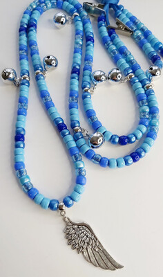 BETTY BLUE rhythm beads for horses and ponies