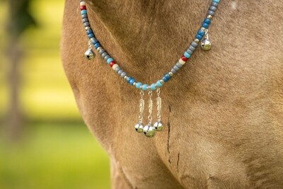 NEVADA SKY rhythm beads for horses, ponies and equines