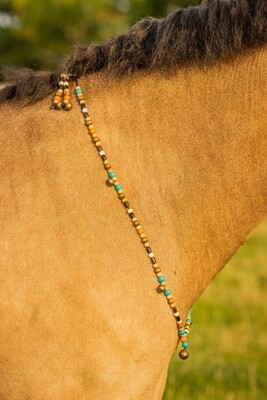 WILLOW rhythm beads for horses, ponies and equines