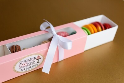 French Macaron Gift Box 12ct