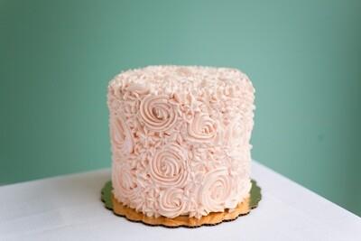 Rose` All Day Rosette Cake