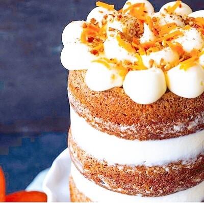 Honey Bourbon Carrot Cake