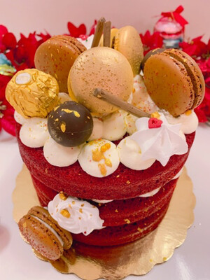 Winter Fantasy Cake