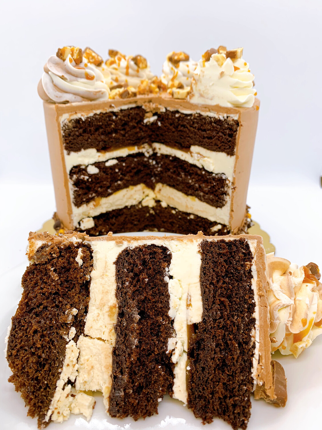 Snickers Party Cake