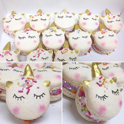 Unicorn French Macarons