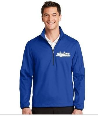 Blue Skyline 1/2 Zip Outdoor Pullover