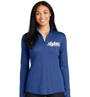 Blue Skyline 1/4-zip Light Pullover