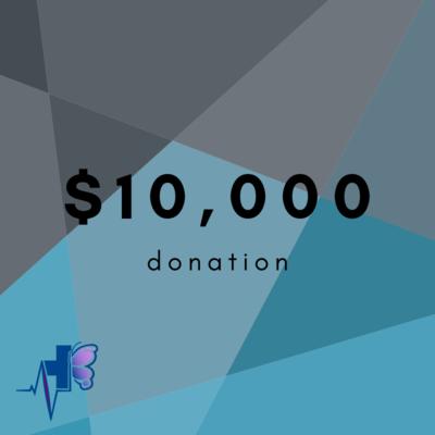 $10,000 Donation