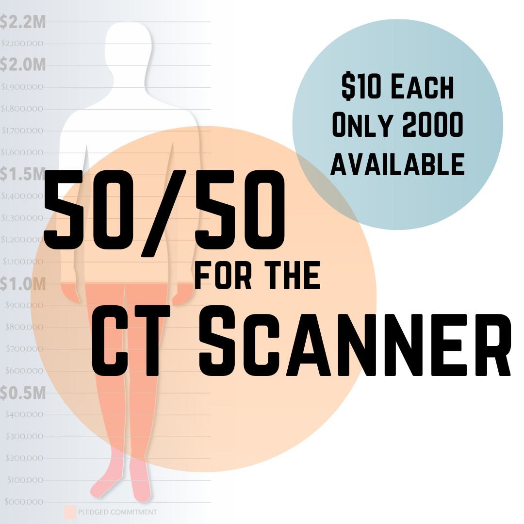 50/50 For the CT Scanner