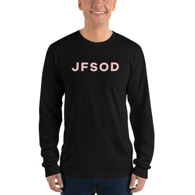 Adult JFSOD Long sleeve (Pink Letters)