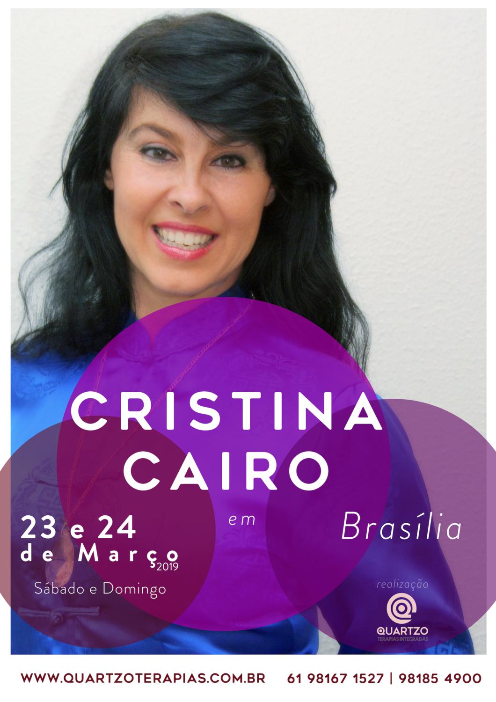 CRISTINA CAIRO em Brasília