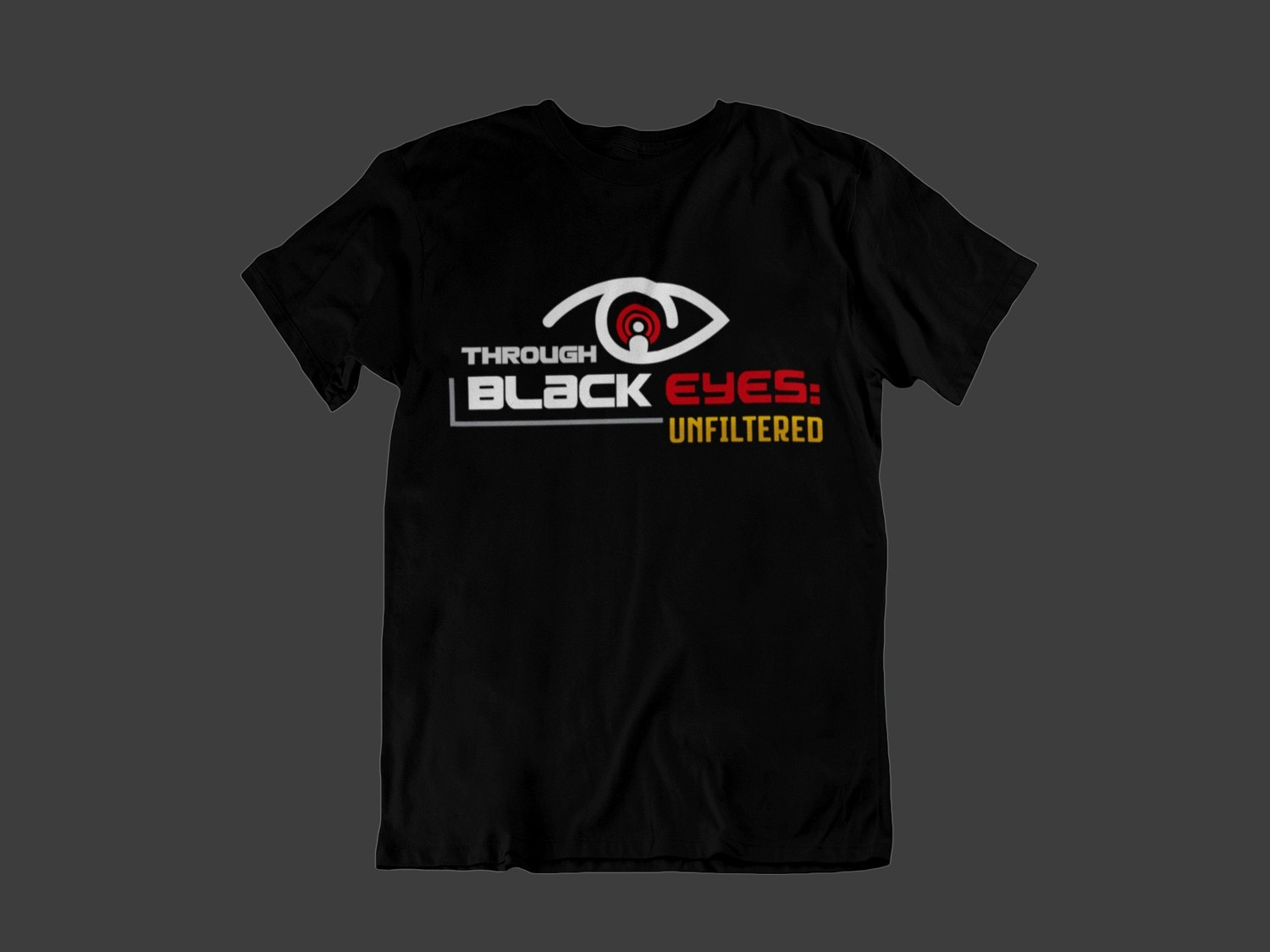 TBE: Unfiltered Logo T-Shirt (black)