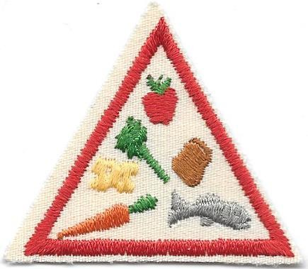Eat Right, Stay Healthy Red Border 1989-1999