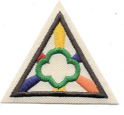 Girl Scout Ways Brown Border 2000-2010