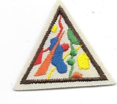Colors and Shapes Brown Border 2000-2010