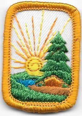 Camping Yellow Border 1980-1996