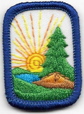 Camping Dark Blue Border 1997-2010