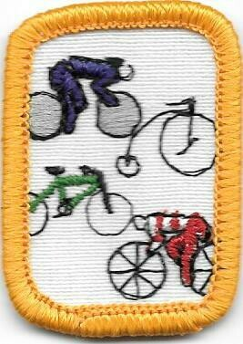Cycling Yellow Border 1980-1996