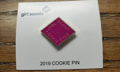 2019  Metal Cookie Pin