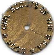 2000 Year Membership disk