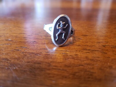 Brownie Ring 1961-83 Sterling Silver adjustable