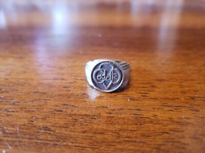 Cadette GS Ring 1960's Sterling silver Size 6?