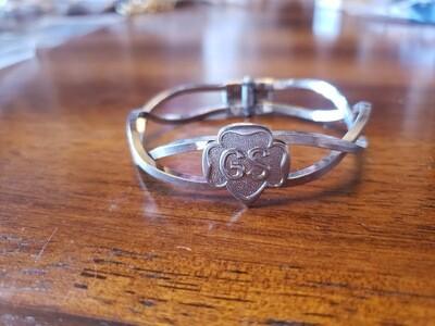 GS Hinge Bracelet 1967 Rhodium Original pkg