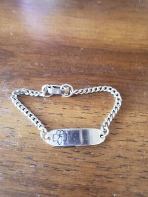 Brownie ID bracelet 1979