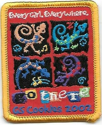 Base Patch (rectangle) Go There Cookies 2002 ABC