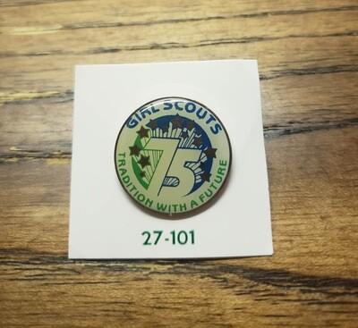 75th Anniversary Pin 1987