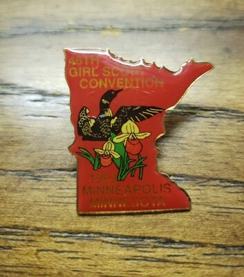 46th Convention Minneapolis Pin 1993