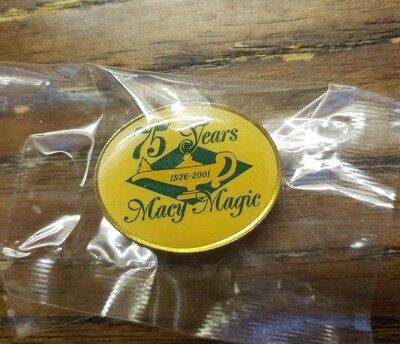 Macy 75th Anniversary Pin