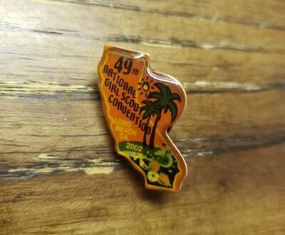 49th Convention Long Beach Pin 2002