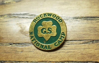 Rockwood National Camp Pin (large--1 in diameter)
