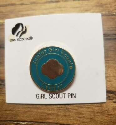 Junior Girl Scout Leader Pin