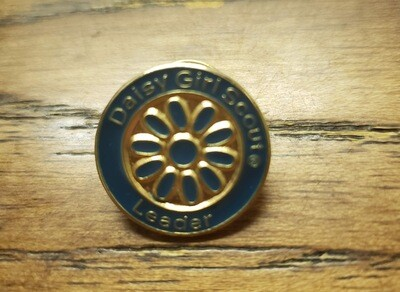 Daisy Girl Scout Leader Pin