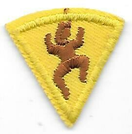 1st year Brownie Participation patch 1977-1987