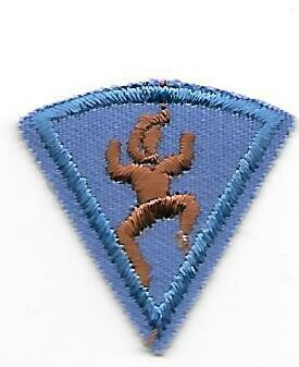 3rd year Brownie Participation patch 1977-1987