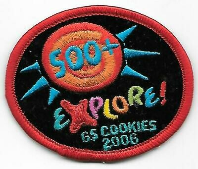 500+ Patch Explore GS Cookies 2006 ABC