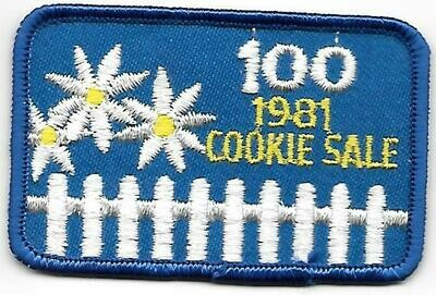100 patch 1981 Little Brownie Bakers