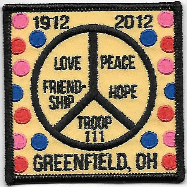 GSOH 100th Anniversary Patch (Greenfield OH)