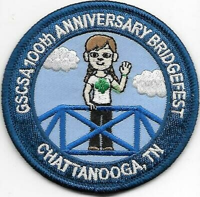 GSCSA 100th Anniversary Patch (Chattanooga TN)