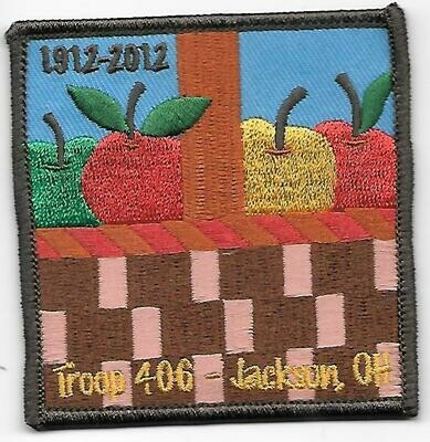 GSOH 100th Anniversary Patch (Jackson OH)