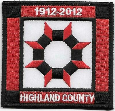 GSOH 100th Anniversary Patch (Highland County)