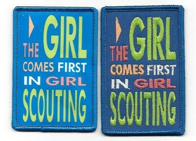 The Girl Comes First in Scouting