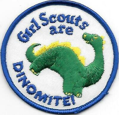 Girl Scouts are Dinomite